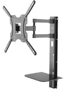 MACLEAN MC-772 TV WALL MOUNT 32-55'' WITH SHELF