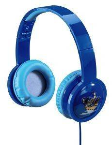 HAMA 135663 BLINK'N KIDS OVER-EAR STEREO HEADPHONES BLUE
