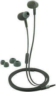 LOGILINK HS0041 SPORTS-FIT IN-EAR STEREO HEADSET 3.5MM WITH 2 SETS EAR BUDS WATERPROOF GREY