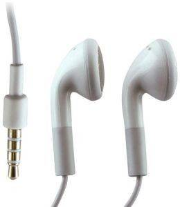 FOREVER STEREO HEADSET FOR IPHONE WHITE