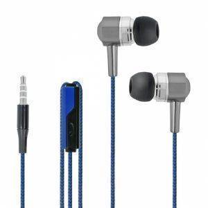 FOREVER SE-120 WIRED HEADSET BLUE/BLACK