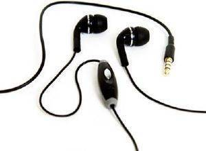 HANDS FREE STEREO GECKO TRANCE XD REMOTE APPLE IPHONE 4/4S 3.5MM - BLACK