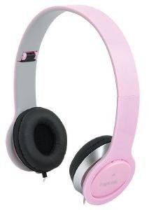 LOGILINK HS0032 SMILE STEREO HIGH QUALITY HEADSET WITH MICROPHONE PINK