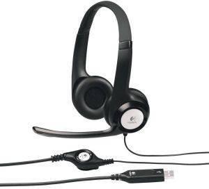 LOGITECH 981-000014 H390 USB HEADSET ήχος  amp  εικόνα mp3 ακουστικα headset