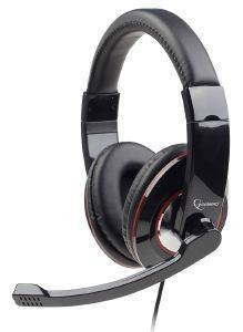 GEMBIRD MHS-001 STEREO HEADSET GLOSSY BLACK
