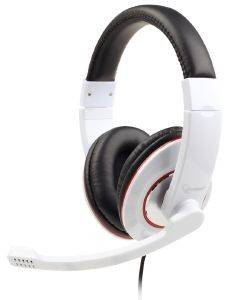 GEMBIRD MHS-001-GW STEREO HEADSET GLOSSY WHITE
