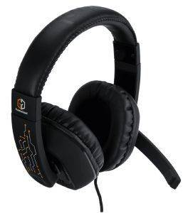 BML GAMEGOD RUSHER HEADSET BLACK