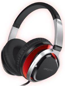 CREATIVE AURVANA LIVE2 OVER-THE-EAR HEADSET RED