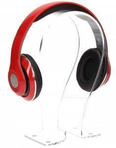 REBELTEC AUDIOFEEL2 HEADPHONES WITH MIC RED