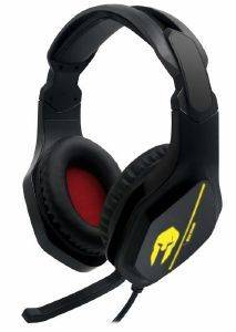 NOD G-HDS-004 IRON SOUND GAMING HEADSET WITH RETRACTABLE MICROPHONE AND RGB LED