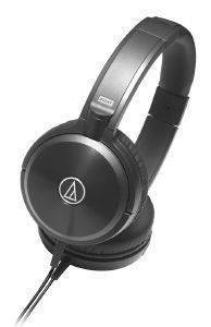 AUDIO TECHNICA ATH-WS77 SOLID BASS OVER-EAR HEADPHONES BLACK