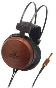 AUDIO TECHNICA ATH-W1000X AUDIOPHILE CLOSED-BACK DYNAMIC WOODEN HEADPHONES