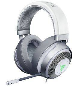 RAZER KRAKEN 7.1 V2 OVAL MERCURY EDITION USB GAMING HEADSET