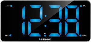 BLAUPUNKT CR15WH CLOCK RADIO WITH DUAL ALARM AND USB CHARGING WHITE