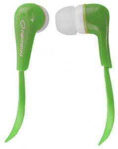 ESPERANZA EH146G STEREO EARPHONES LOLLIPOP GREEN