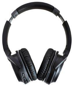 AUDIO TECHNICA ATH-S200BTBK WIRELESS ON-EAR HEADPHONES WITH BUILT-IN MIC & CONTROLS BLACK