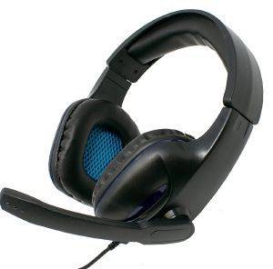 GEMBIRD GHS-04 GAMING HEADSET WITH VOLUME CONTROL MATTE BLACK