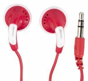 MAXELL COLOR BUDS EARPHONES RED