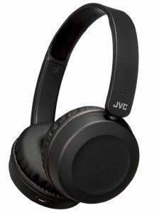 JVC HA-S31BT-B FLAT FOLDABLE WIRELESS BLUETOOTH HEADPHONES WITH BUILT-IN MICROPHONE BLACK