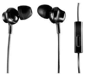 PANASONIC RP-TCM360E-K CANAL TYPE IN-EAR HEADPHONES WITH MIC BLACK