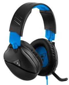 TURTLE BEACH RECON 70P BLACK/BLUE GAMING-HEADSET TBS-3555-02