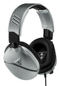TURTLE BEACH RECON 70 SILVER OVER-EAR STEREO GAMING-HEADSET TBS-2655-02