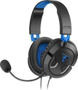TURTLE BEACH RECON 50P BLACK OVER-EAR STEREO GAMING-HEADSET TBS-3303-02