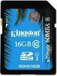 ΜΝΗΜΕΣ-SECURE DIGITAL - KINGSTON SDA10/16GB 16GB SDHC CLASS 10 UHS-I ULTIMATE FLASH CARD