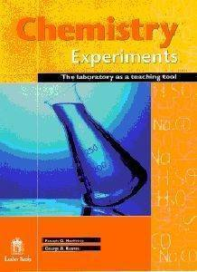 CHEMISTRY EXPERIMENTS:THE LABORATORY AS A TEACHING TOOL
