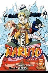 NARUTO 5 ΟΙ ΥΠΟΨΗΦΙΟΙ βιβλία κομικ manga