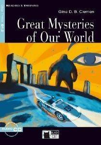 GREAT MYSTERIES OF OUR WORLD + CD AUDIO