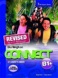 REVISED BURLINGTON CONNECT B1+ STUDENTS BOOK βιβλία εκμαθηση ξενων γλωσσων αγγλικα