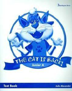 THE CAT IS BACK JUNIOR A TEST BOOK