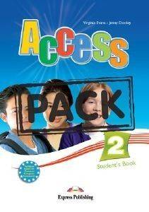 ACCESS 2 STUDENTS BOOK (+ GRAMMAR BOOK GREEK EDITION, IEBOOK)