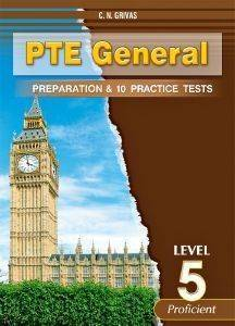 PTE GENERAL PREPARATON AND 10 PRACTICE TESTS LEVEL 5 STUDENTS BOOK βιβλία εκμαθηση ξενων γλωσσων αγγλικα