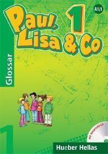 PAUL LISA - CO 1 GLOSSAR MIT AUSSPRACHE -CD (ΓΛΩΣΣΑΡΙΟ ΜΕ CD) βιβλία εκμαθηση ξενων γλωσσων γερμανικα
