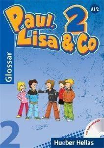 PAUL LISA - CO 2 GLOSSAR MIT AUSSPRACHE -CD (ΓΛΩΣΣΑΡΙΟ ΜΕ CD) βιβλία εκμαθηση ξενων γλωσσων γερμανικα