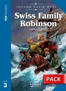 SWISS FAMILY ROBINSON - STUDENTS PACK (INCLUDES GLOSSARY - CD) βιβλία εκμαθηση ξενων γλωσσων αγγλικα