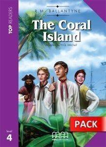 THE CORAL ISLAND - STUDENTS PACK (INCLUDES GLOSSARY - CD) βιβλία εκμαθηση ξενων γλωσσων αγγλικα