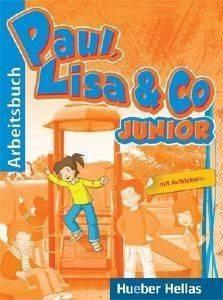 PAUL LISA - CO JUNIOR ARBEITSBUCH (ΒΙΒΛΙΟ ΑΣΚΗΣΕΩΝ) βιβλία εκμαθηση ξενων γλωσσων γερμανικα