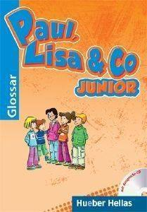 PAUL LISA - CO JUNIOR GLOSSAR (ΓΛΩΣΣΑΡΙΟ) βιβλία εκμαθηση ξενων γλωσσων γερμανικα