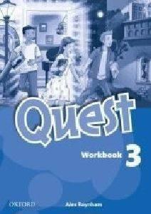 QUEST 3 WORKBOOK βιβλία εκμαθηση ξενων γλωσσων αγγλικα