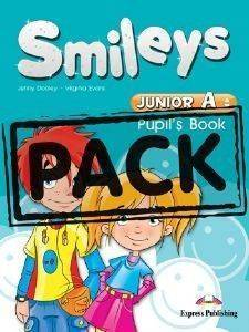 SMILEYS JUNIOR A PUPILS BOOK (+ ALPHABET BOOK, MULTI-ROM-IEBOOK) βιβλία εκμαθηση ξενων γλωσσων αγγλικα