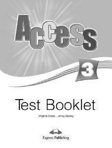 ACCESS 3 TEST BOOKLET