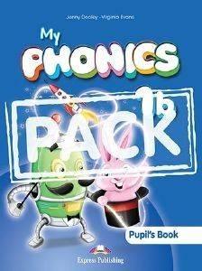 MY PHONICS 1B PUPILS BOOK βιβλία εκμαθηση ξενων γλωσσων αγγλικα