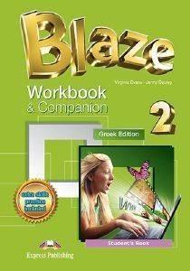 BLAZE 2 WORKBOOK - COMPANION STUDENTS BOOK βιβλία εκμαθηση ξενων γλωσσων αγγλικα