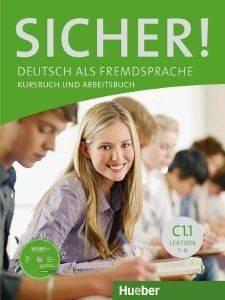 SICHER! KURSBUCH - ARBEITSBUCH C1.1 (+ CD) ΒΙΒΛΙΟ ΜΑΘΗΤΗ ΚΑΙ ΑΣΚΗΣΕΩΝ βιβλία εκμαθηση ξενων γλωσσων γερμανικα