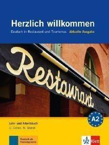 HERZLICH WILLKOMMEN KURSBUCH - ARBEITSBUCH (+ AUDIO CD) βιβλία εκμαθηση ξενων γλωσσων γερμανικα