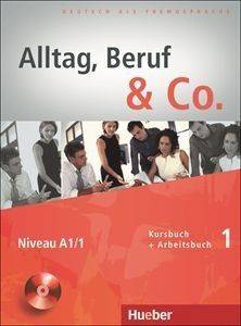 ALLTAG BERUF - CO 1 KURSBUCH - ARBEITSBUCH (+ CD) βιβλία εκμαθηση ξενων γλωσσων γερμανικα