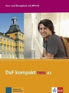 DAF KOMPAKT NEU A2 KURSBUCH - ARBEITSBUCH (+ CD AUDIO MP3) βιβλία εκμαθηση ξενων γλωσσων γερμανικα
